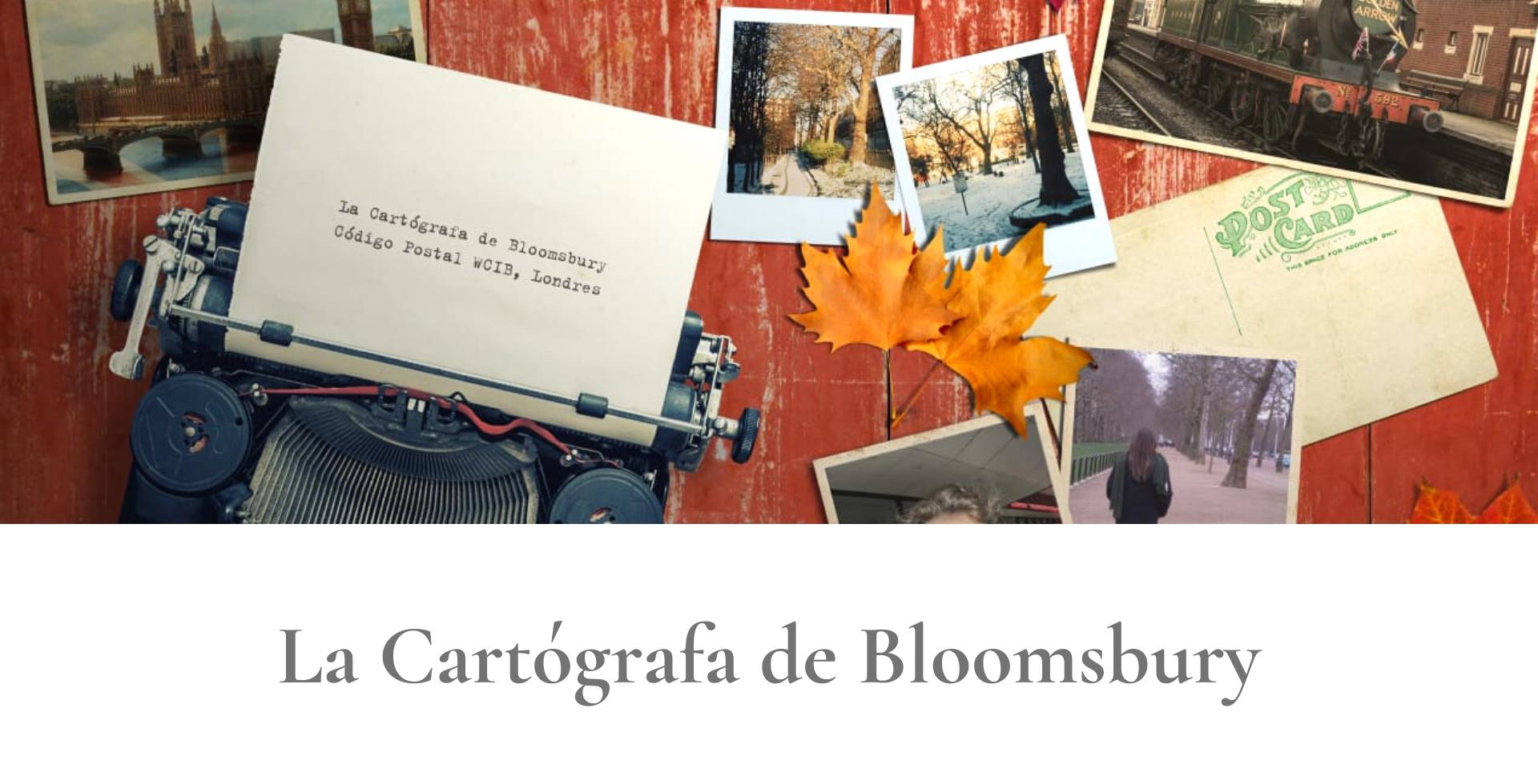 La Cartógrafa de Bloomsbury